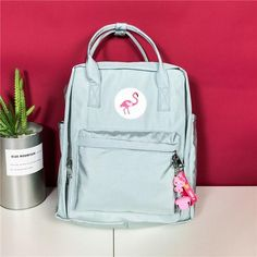 f9b63149dd82 2018 Women Kanken Backpack School bag for Teenage Girls Leisure Korean  Ladies 14   Laptop Travel Bags Knapsack bolsa feminina. Fashion Backpack ...