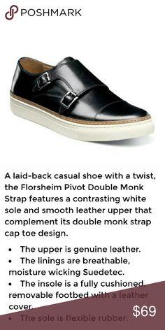 🆕️Men's Florsheim Pivot Double Monk Strap Sz 10.5 Men's Florsheim Pivot Double Monk Strap  Sz 10.5 New in Box Florsheim Shoes Loafers & Slip-Ons