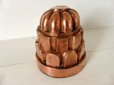 Beautiful Large Antique French Copper Mould, Mold