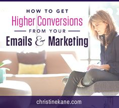 How to Get Higher Conversions from Your Emails and Marketing Call To Action, Your Email, Email Marketing, Worship, Conversation, No Response, Knowledge, How To Get, Key