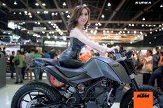 Custom KTM DUKES – KTM THAILAND AT MotoExpo 2014 « Design « DERESTRICTED