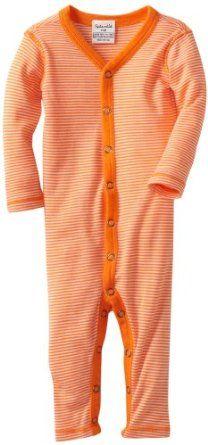 Splendid Littles Unisex-Baby Newborn Always Mini Striped Long Piece Romper, Poppy, 3-6 Months Splendid. $48.00