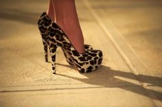 cheetah print #shoes #heels