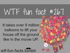 Over 9 million balloons