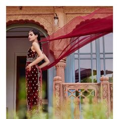 """4,173 Likes, 10 Comments - Anita Dongre (@anitadongre) on Instagram: """"The depth of velvet, especially in jewel tones, makes the perfect canvas for embroidery. The fabric…"""""""