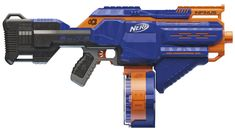 In New York next month the toymakers of the world will be showing off everything the kids in your life will be begging you for later this year. But ahead of Toy Fair 2018, Nerf has given us a sneak peek at a couple of new blasters it's introducing, including one that helps solve the most annoying part of waging a dart battle—having to stop to reload.