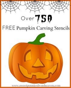 Ready to carve some pumpkins?? Here are over 750 FREE Pumpkin Carving Stencils...from Walking Dead to Justin Beiber. From Disney to GLEE. Tons to choose from!!!