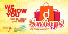 SHOP & WIN #Contest with dSweeps @Devonshire Mall on Saturday, March 29 12 p.m. - 2 p.m. *Apple and Android platforms only. http://www.devonshiremall.com/contests/ for more details
