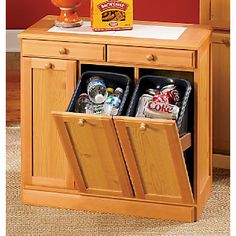 actually plan on building something like this but using a anna white plan for a pullout trash bin