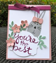 Stampin' Up! Playful Pals - You're the Best