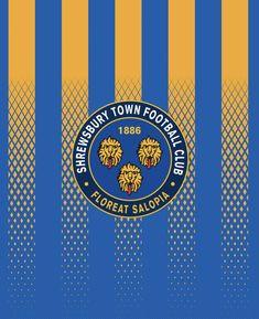 Shrewsbury Town wallpaper. Shrewsbury Town, Football Wallpaper, Chicago Cubs Logo, Football Players, Team Logo, Logos, Art, Art Background, Soccer Players