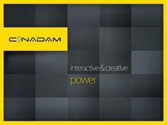 CinAdam Presentation Layout Design by Serdar Meydanci, via Behance