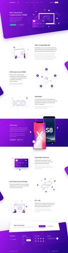 Webdesign Inspiration 2018 - # Web design Source by Mobile Ui Design, App Design, Site Web Design, Design Logo, Design Poster, Web Design Trends, Blog Design, Blog Website Design, Flat Web Design