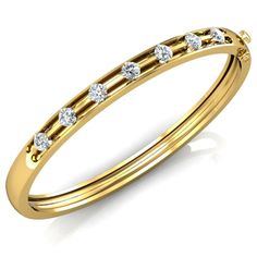 Log on to Yaqsh Diamonds Online Store Yaqsh.com for Online Diamond Bracelets shopping in India. Buy latest designs of Gold bangles  in Yellow Gold, White gold and Platinum. Enjoy FREE shipping and FREE Insurance. 15 days return.