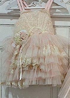 Flower girl dress.