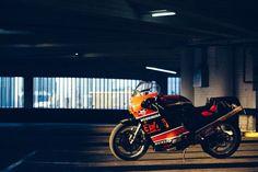 Suzuki GSX-R 750 Yoshimura by Sebastien Nunes Parking Lot