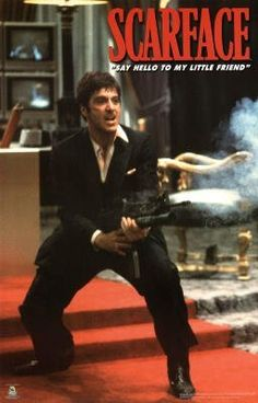 (22x34) Scarface Movie Say Hello To My Little Friend Poster Print by Poster Revolution....TOTALLY GETTING THIS OMG...ME GUSTAAAAAAAAAAAAAAAAAAAAAAAAAAAAAAAAAAAAAAAAAAA