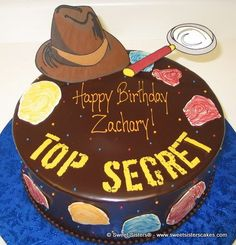 Top Secret! Detective themed birthday party!