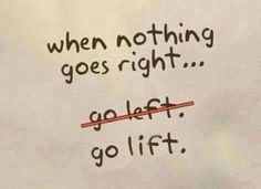 Go lift!