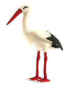 Another great find on #zulily! Cream Stork Plush Toy #zulilyfinds