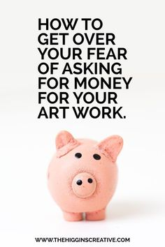 How to get over your fear of charging your worth | @The Higgins Creative.. Stop…