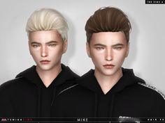 Sims 4 Males Hairstyles ~ Sims 4 Hairs!