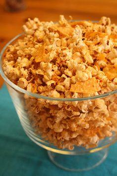 Nacho Popcorn Recipe - How to make Nacho Popcorn