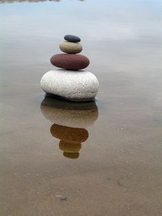 Sit stil have a Zen moment ... Balance & Reflection....Take your Time.... .........Go on.....