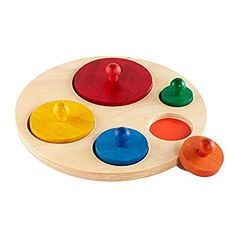 Amazon.com : Circle Sorter : Baby Shape And Color Recognition Toys : Baby