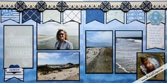 Posts about Creative Memories Border Maker Ideas written by Karyn McDermaid-Rolfe Beach Scrapbook Layouts, Vacation Scrapbook, Scrapbook Blog, Scrapbook Sketches, Scrapbook Cards, Simple Scrapbook Ideas, Simple Scrapbooking Layouts, Picture Scrapbook, Scrapbook Templates