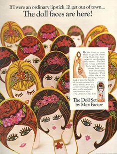 Doll Face Mirror Lipsticks by Max Factor