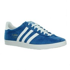 7bc064f07 Adidas Originals Gazelle OG Trainers Air Force Blue Suede First Issued in  1968 as an all