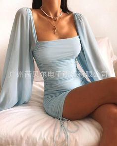 Cute Casual Outfits, Stylish Outfits, Cute Dresses For Party, Elegant Party Dresses, Party Dress Outfits, Holiday Party Dresses, Dress Party, Party Wear, Tight Dresses