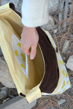 Image of the Sew Liberated Messenger Bag sewing pattern for women.