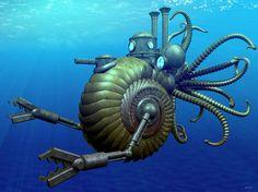 Steampunk under the sea.