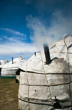 The Yurt Neighborhood . Kyrgyzstan