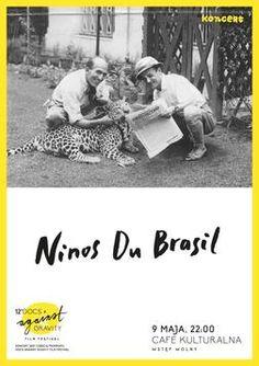 DOCS AGAINST GRAVITY: Ninos du Brasil (Live / DFA)/ Café Kulturalna (Warszawa)/ 9 V 2015