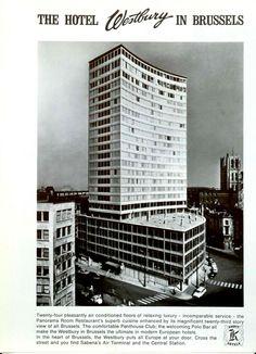 Publicité papier HOTEL WESTBURY BRUXELLES BRUSSELS 1966 P1026707