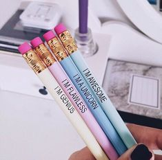 Imagen de pencil, unicorn, and awesome