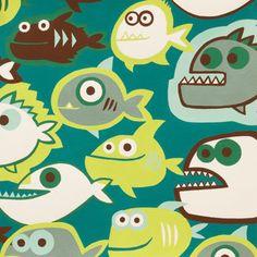 Tela FQ :: pirañas :: de nosgustanlosretros por DaWanda.com