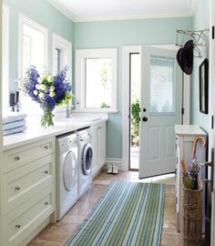 a laundry should be a beautiful room like any other in your house, not a place to hide your dirty washing!!