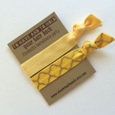 Custom Bachelorette Party Favors - Gifts - To Have and To Hold - Choose Your Color on Etsy, $2.50