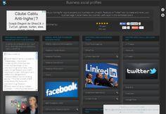 Business social profiles