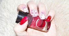 ¿Aún no tienes ideas para tus uñas en San Valentín? ¡No te pierdas éste artículo en el que he realizado un diseño Nail Art de San Valentín! http://femeni-nails.com/random/nail-art-de-san-valentin/