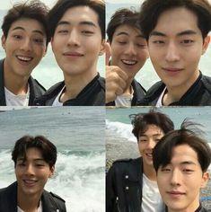 """ji soo and nam joo hyuk"" Asian Actors, Korean Actors, Ji Soo Nam Joo Hyuk, Ji Soo Actor, Scarlet Heart Ryeo, Jong Hyuk, Bride Of The Water God, Nam Joohyuk, Weightlifting Fairy Kim Bok Joo"