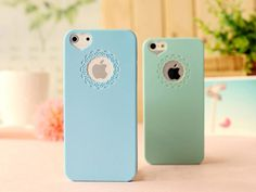Cute Candy Loving Heart Flower Hard Phone Case Cover For Apple iPhone 5 5s 4 4S - free shipping worldwide
