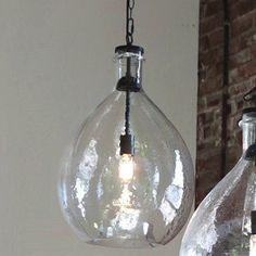Our Oversized Glass Pendant Light will make a big bright splash. For more glass pendant lights visit Antique Farmhouse today! Kitchen Pendant Lighting, Kitchen Pendants, Dining Room Lighting, Glass Pendants, Island Pendants, Entry Lighting, Deck Lighting, Island Lighting, Farmhouse Lighting