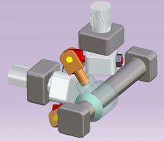 Transnission between two shafts - CATIA - 3D CAD model - GrabCAD