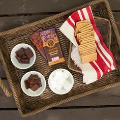 Today is National S'mores Day! Not that we needed an excuse to make some of these. Equal Exchange Chocolate, Fair Trade Chocolate, Today Is National, Cocoa, Pure Products, How To Make, Crafts, Manualidades, Theobroma Cacao