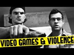 Video games and violence. This is one of the best videos out there. People who think video games cause violence need to watch this. It will show them who's REALLY violent, lol! XD